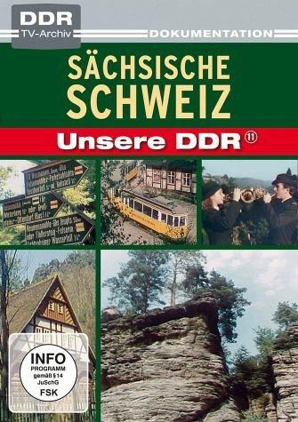 DVD »Unsere DDR 11 - Sächsische Schweiz«