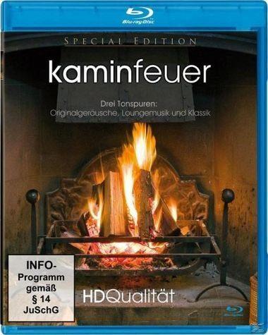 Blu-ray »Kaminfeuer HD - High Definition«