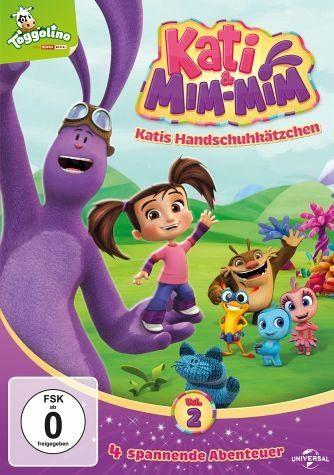 DVD »Kati & Mim-Mim, Vol. 2 - Katis Handschuhkätzchen«