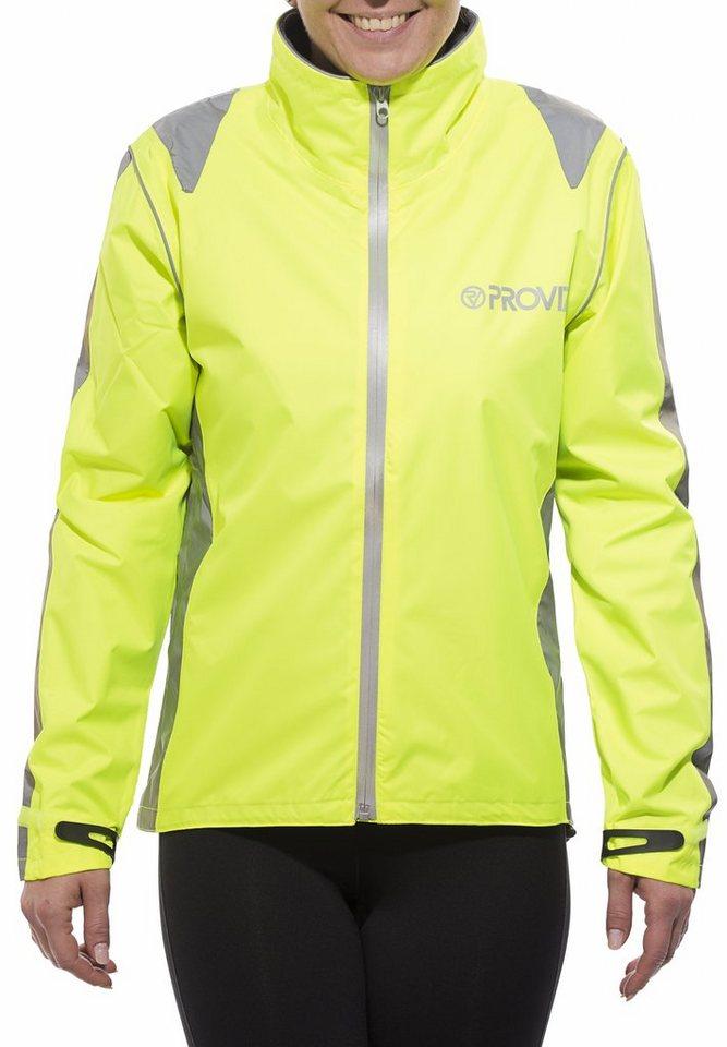 ProViz Radjacke »Nightrider Jacket Women« in gelb