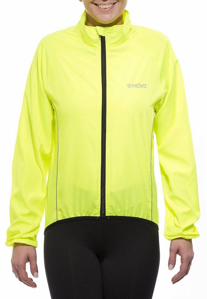 ProViz Radjacke »Windproof Jacket Women« in gelb