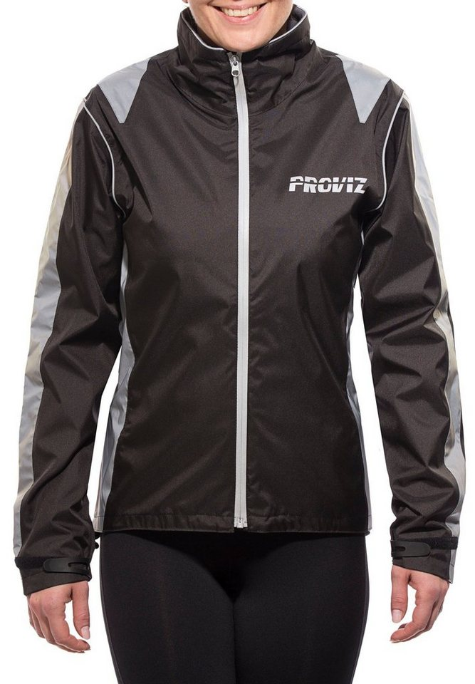 ProViz Radjacke »Nightrider Jacket Women« in schwarz