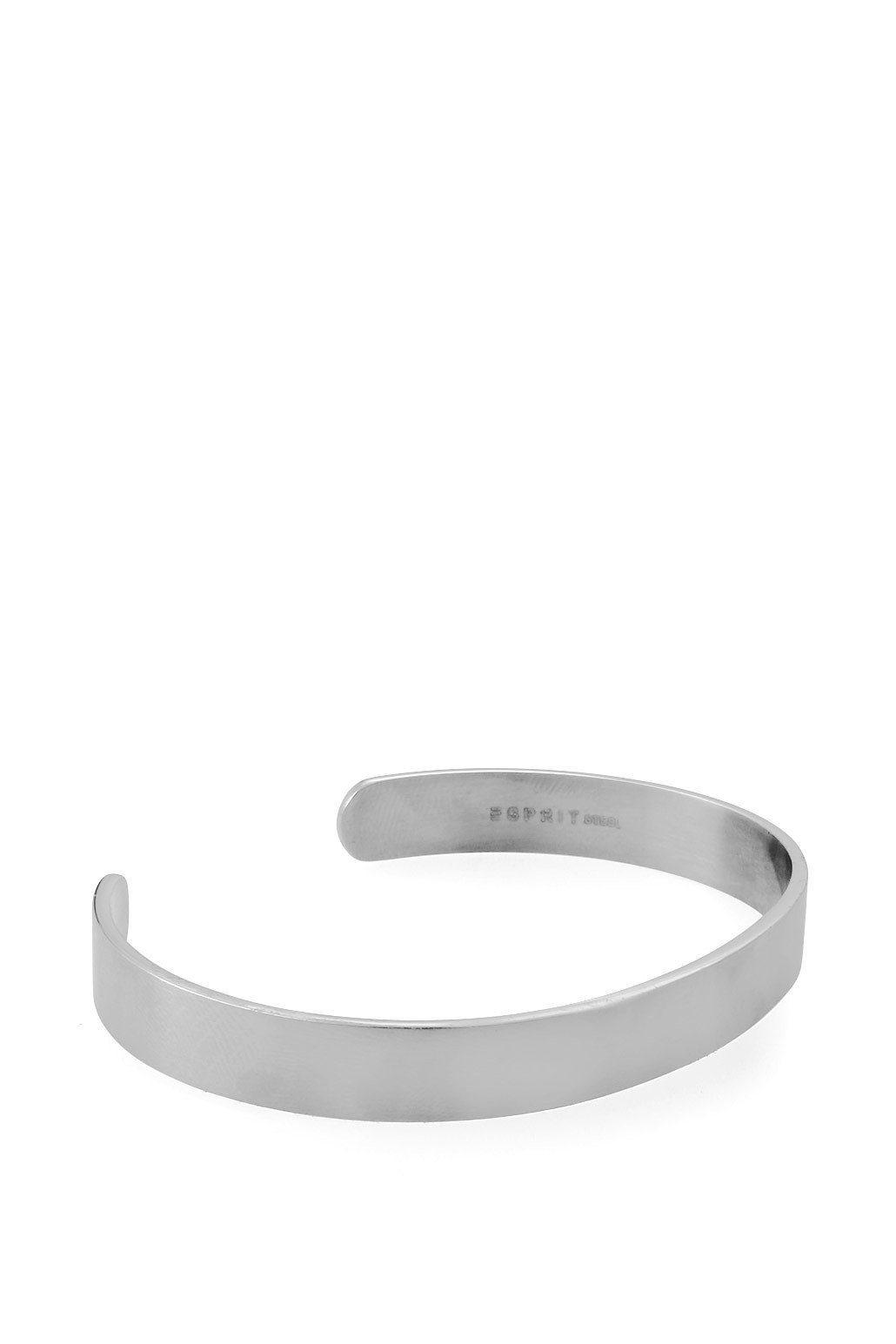 ESPRIT CASUAL Silberfarbene Armspange aus Edelstahl