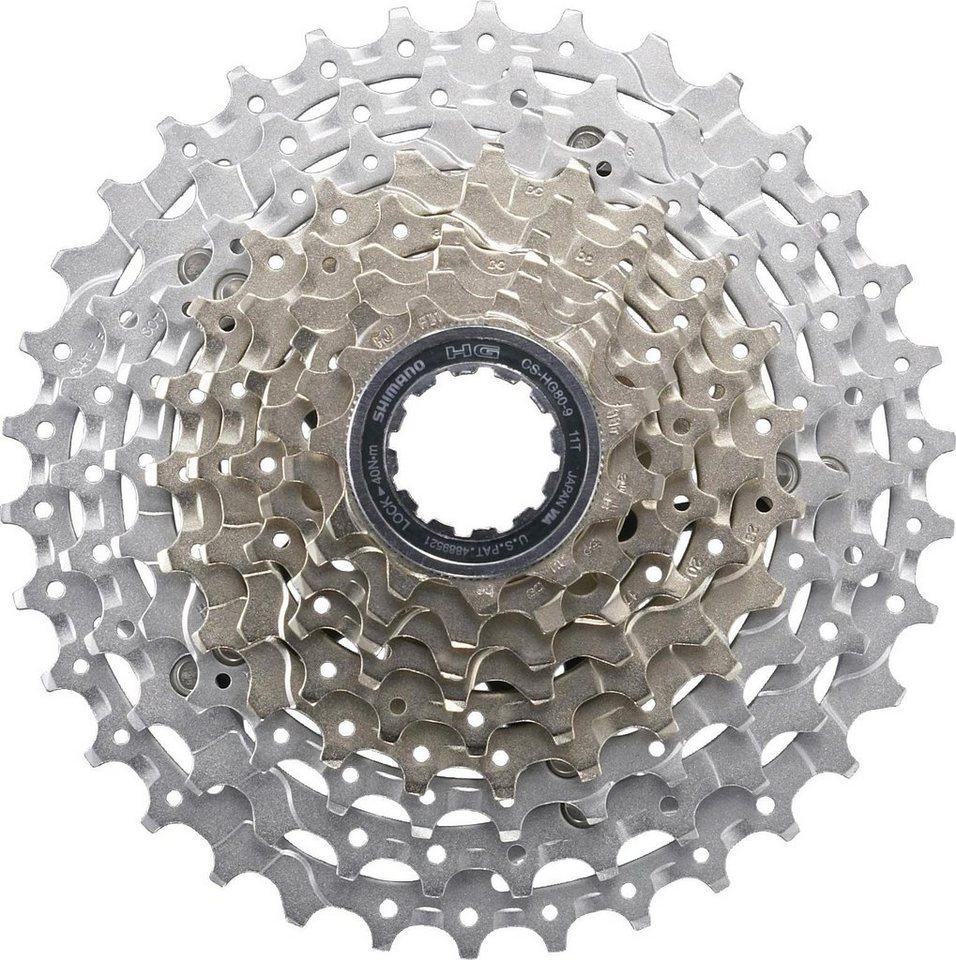 Shimano Fahrradkasetten »SLX CS-HG80 Kassette 9-fach, 11-28 Zähne«