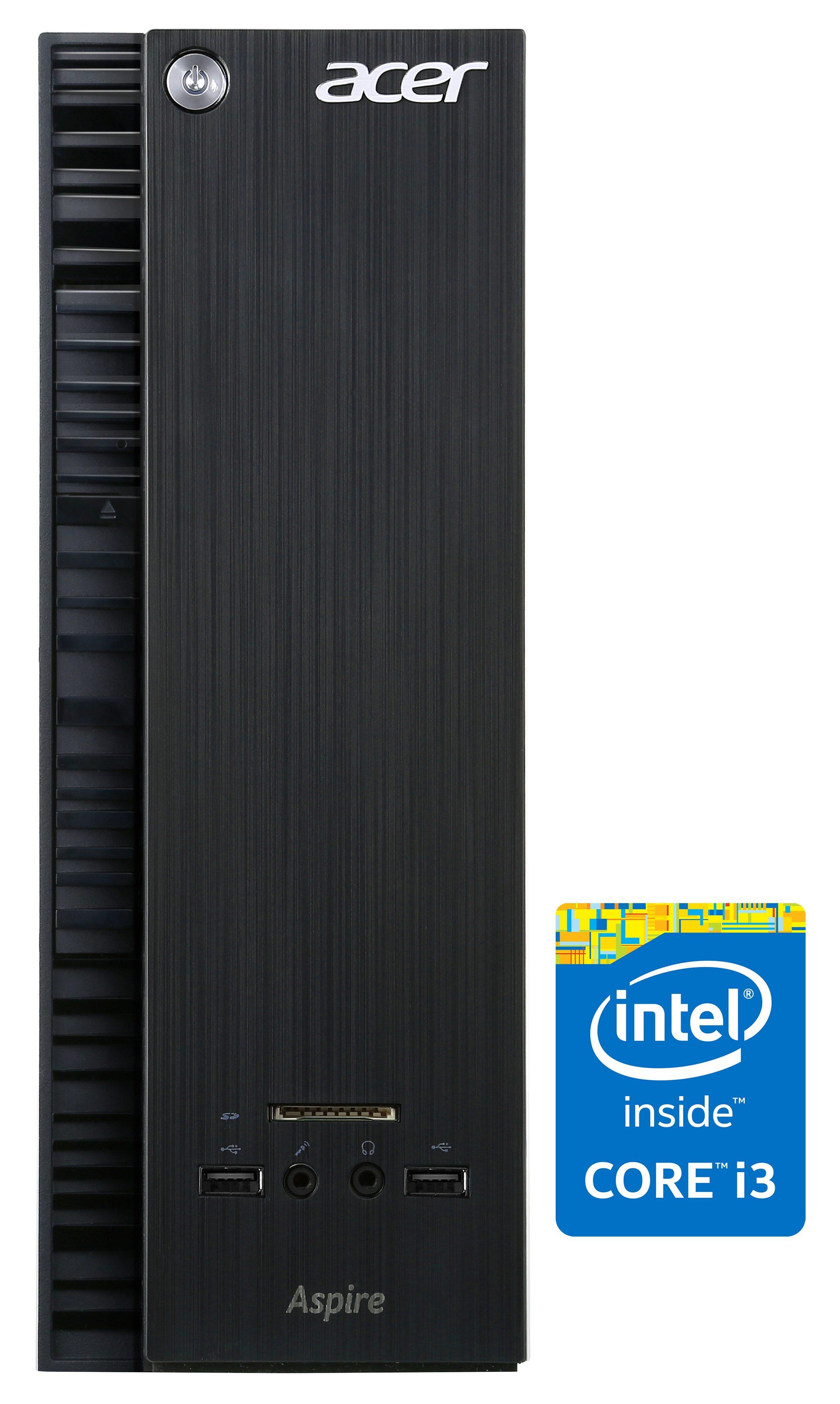 Acer Aspire XC 705 PC, Intel® Core™ i3, 4096 MB DDR3-RAM, 1000 GB Speicher