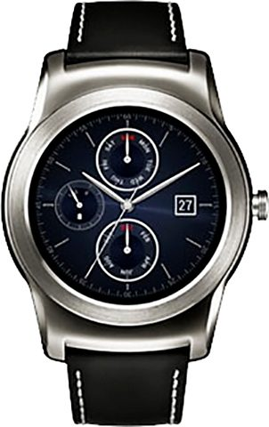 LG Urbane Smartwatch, Android Wear™, 3,3 cm (1,3 Zoll) OLED- Display, Wasserdicht