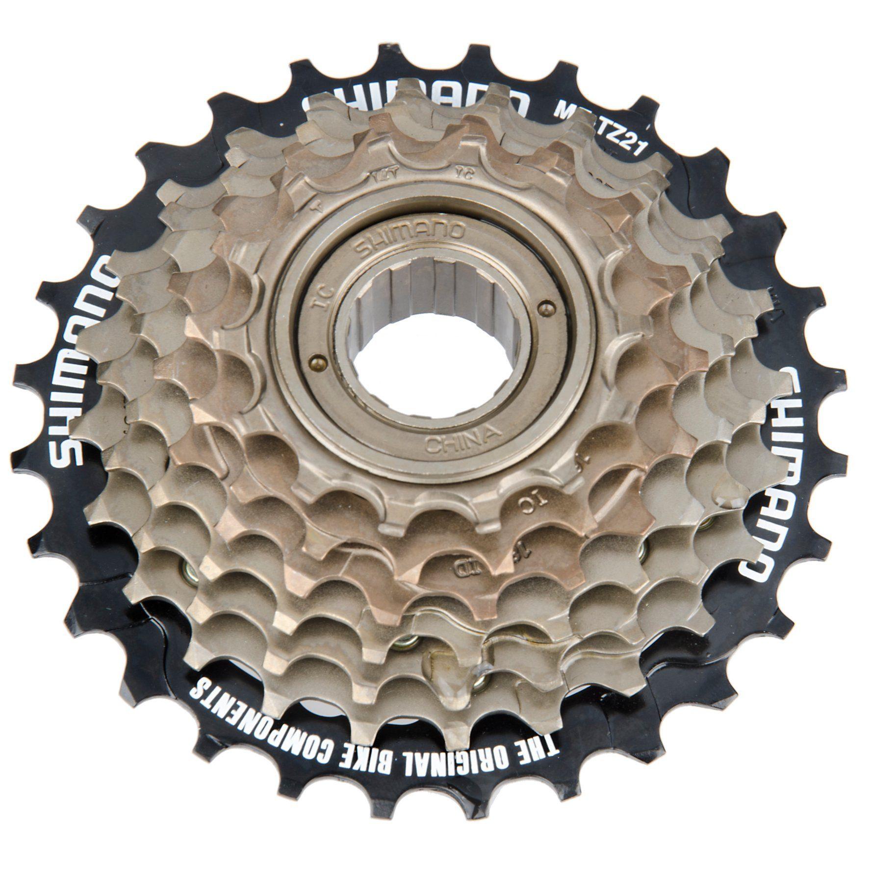 Shimano Fahrradkasetten »Tourney MF-TZ21 Schraubkranz 7-fach 14-28 Zähne«