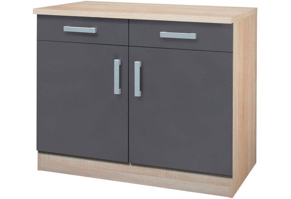 Held Möbel Küchenunterschrank »Toronto«, Breite 100 cm online kaufen ...
