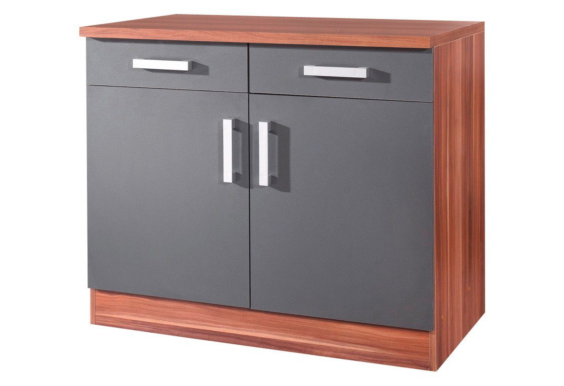 held m bel k chenunterschrank toronto breite 100 cm online kaufen otto. Black Bedroom Furniture Sets. Home Design Ideas