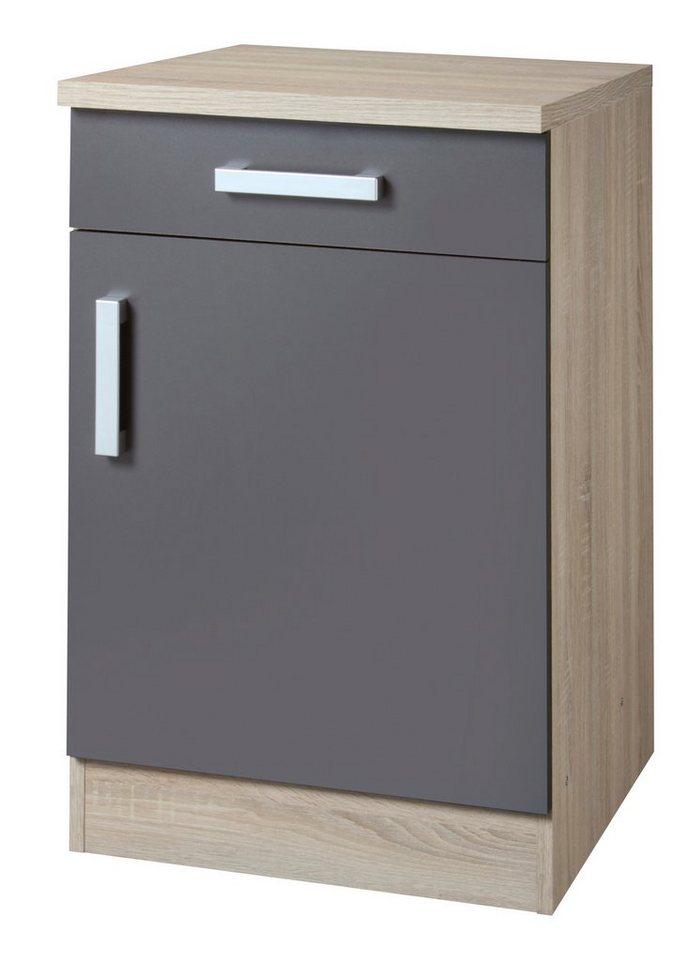 kuchenunterschrank 50 cm tief. Black Bedroom Furniture Sets. Home Design Ideas
