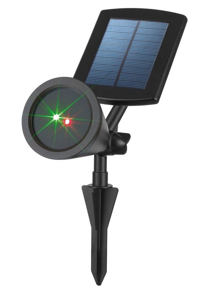 Solarzauber Laserstrahler, TV-Werbung in schwarz