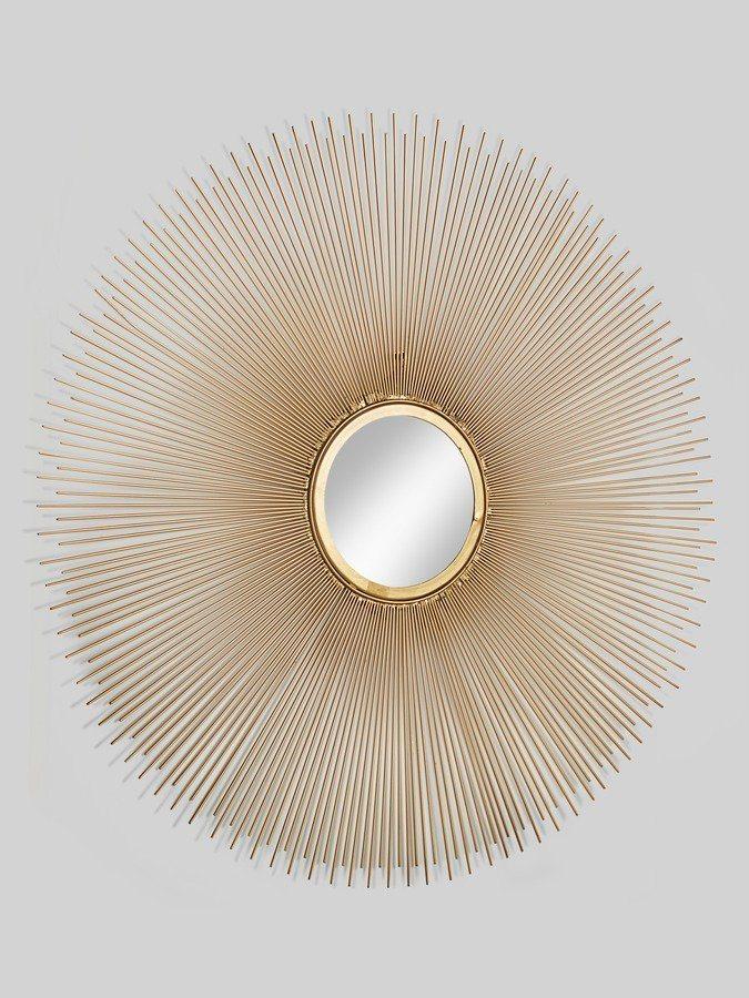 Spiegel in goldfarben