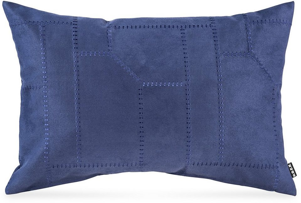 Kissen, Hock, »Mohican«, 60/40 cm in blau