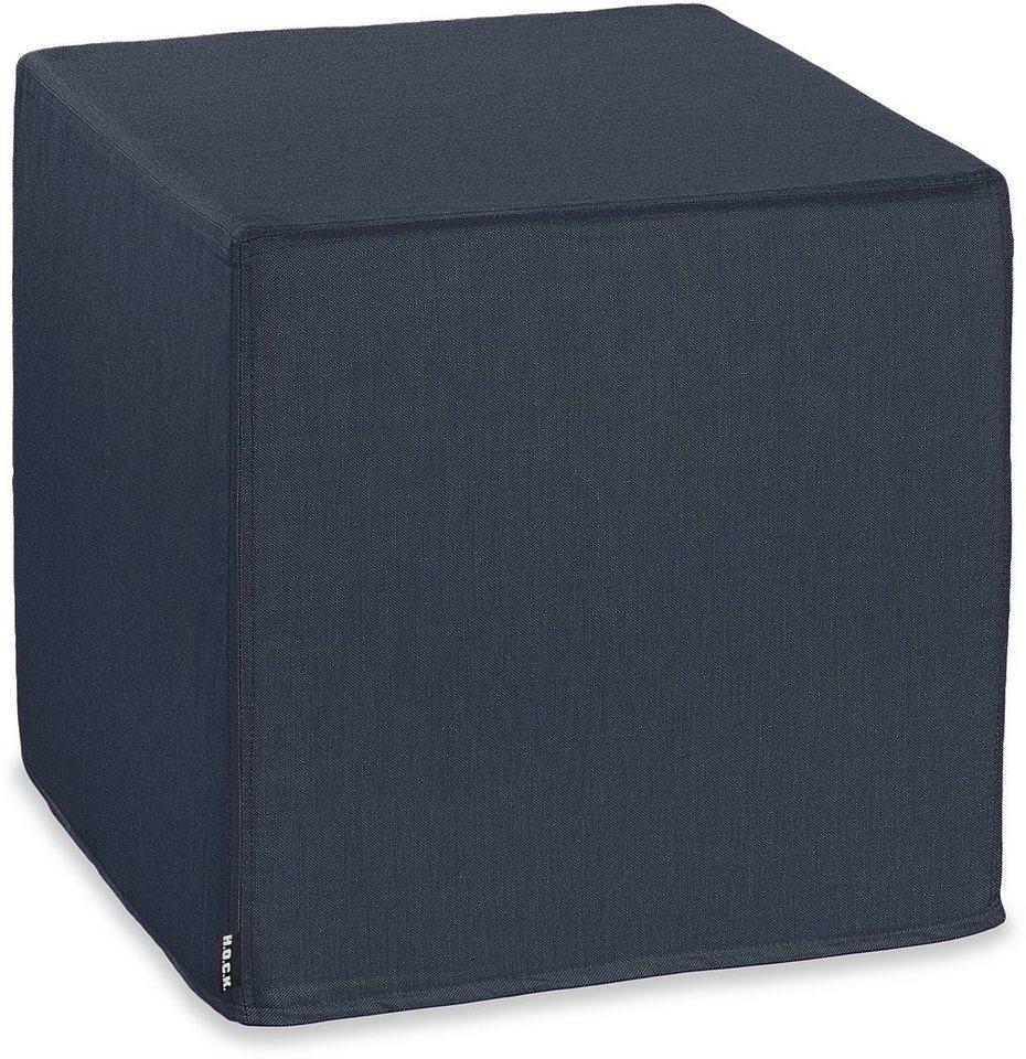Hock, Outdoor-Sitzwürfel, »Cube CARIBE OUTDOOR« in blau