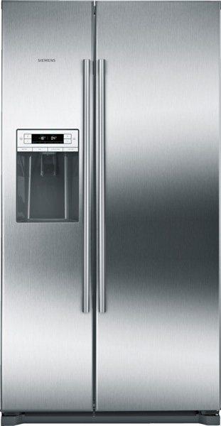 Siemens Side by Side KA90DAI30, A++, 177 cm, No Frost in Edelstahl