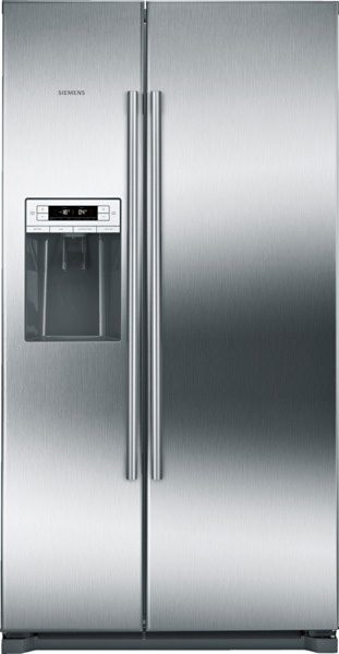 Siemens Side by Side KA90DVI30, A++, 177 cm, No Frost