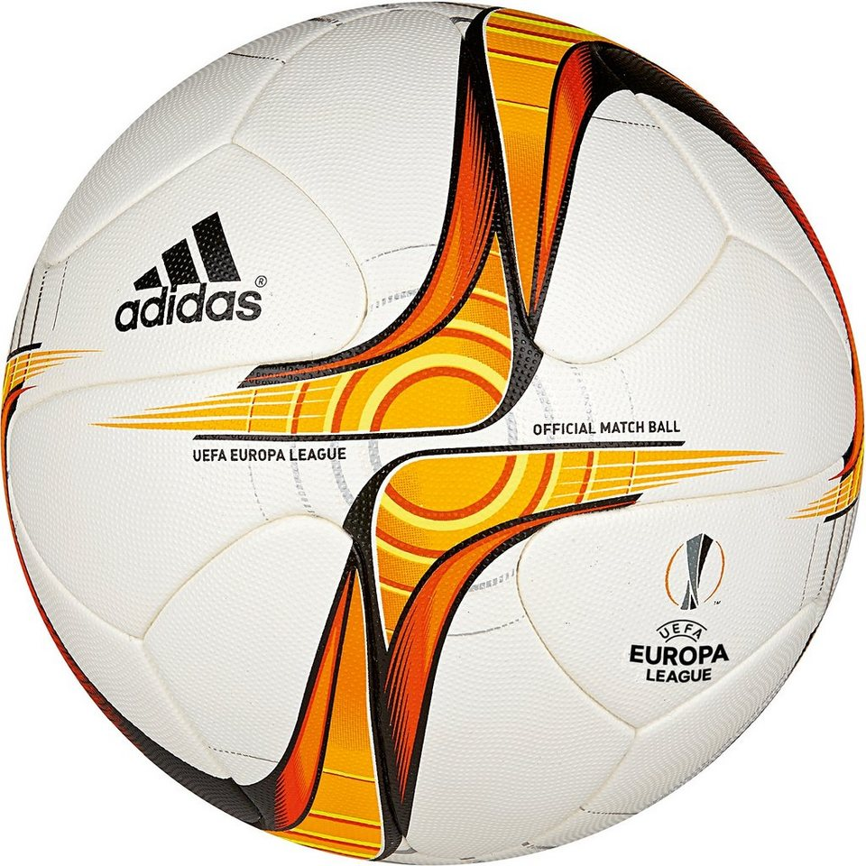 adidas Performance Europa League Official Matchball in weiß / gold / rot