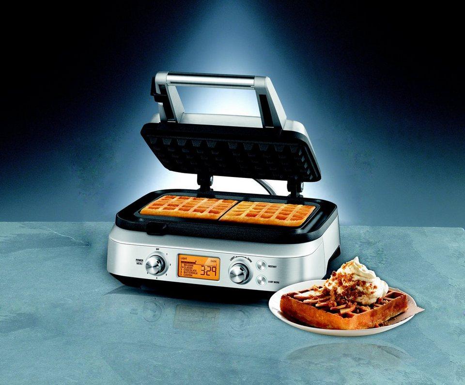 Gastroback Waffeleisen 42422, Design Advanced 2S, 1000 Watt in Edelstahl