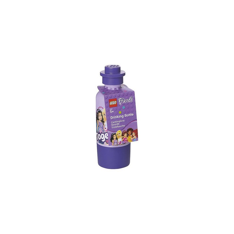 LEGO Trinkflasche Friends lila, 375 ml in lila