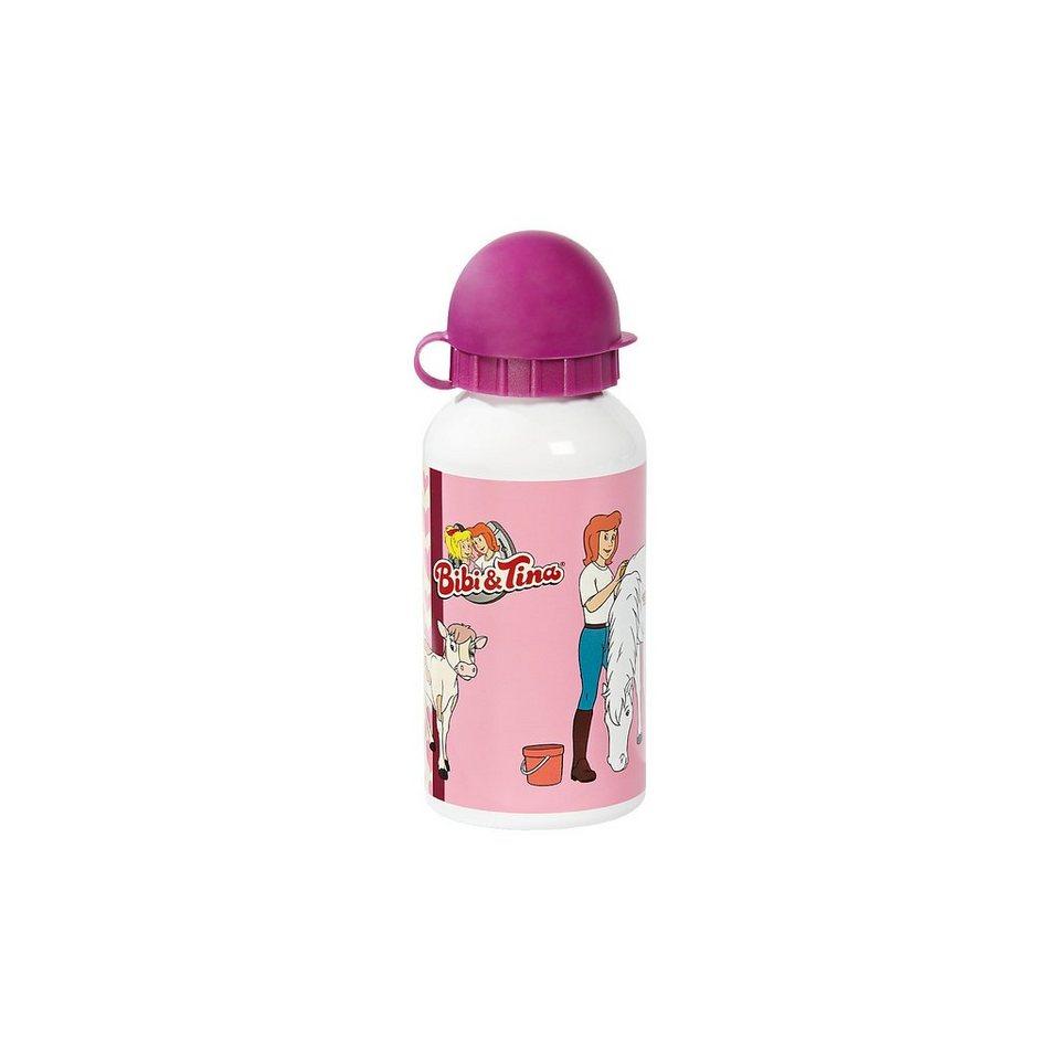 Alu-Trinflasche Bibi & Tina, 400 ml in rosa