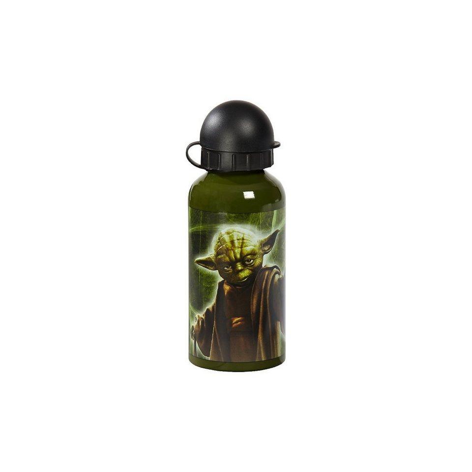 Alu Trinkflasche Star Wars, 400 ml in grün