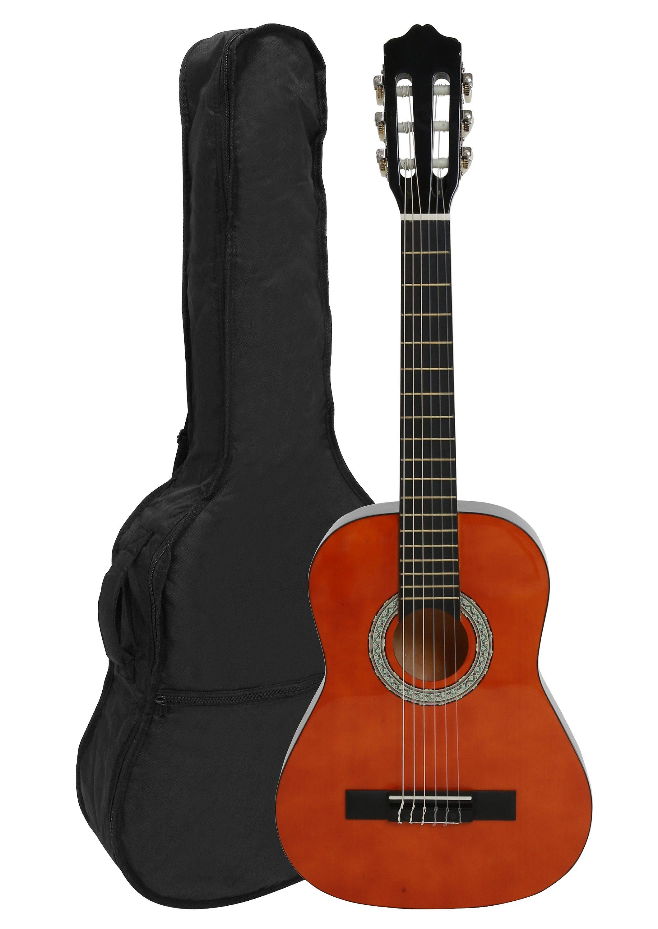 Kindergitarre 1/2, »Konzertgitarren-Set Honey«