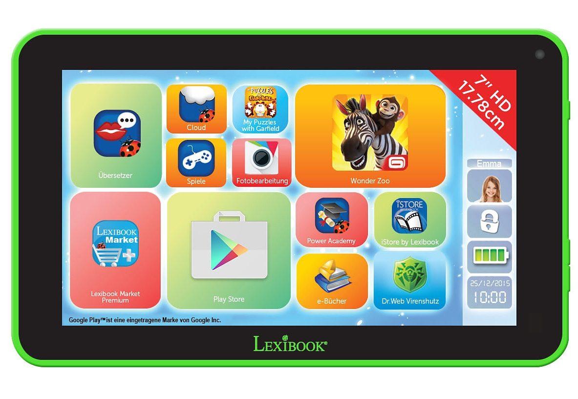 Lexibook, Lerntablet 7-Zoll HD, »Neon«
