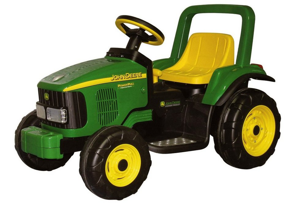 peg p rego elektrofahrzeug f r kinder traktor power pull john deere 6v online kaufen otto. Black Bedroom Furniture Sets. Home Design Ideas