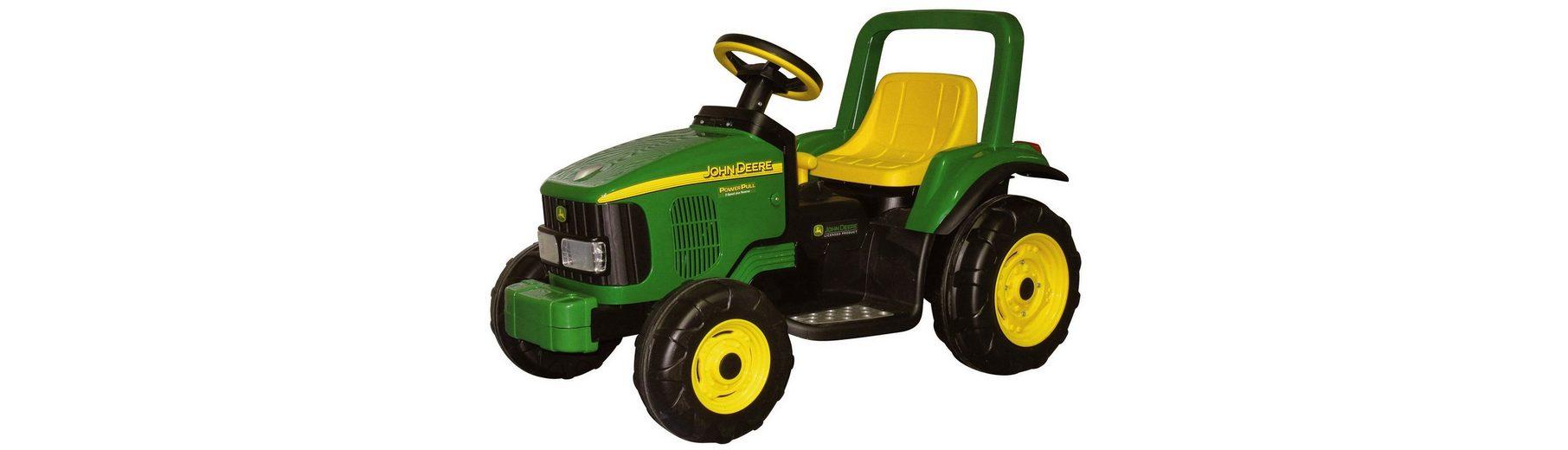 Peg-Pérego Elektrofahrzeug für Kinder Traktor »Power Pull, John Deere - 6V«