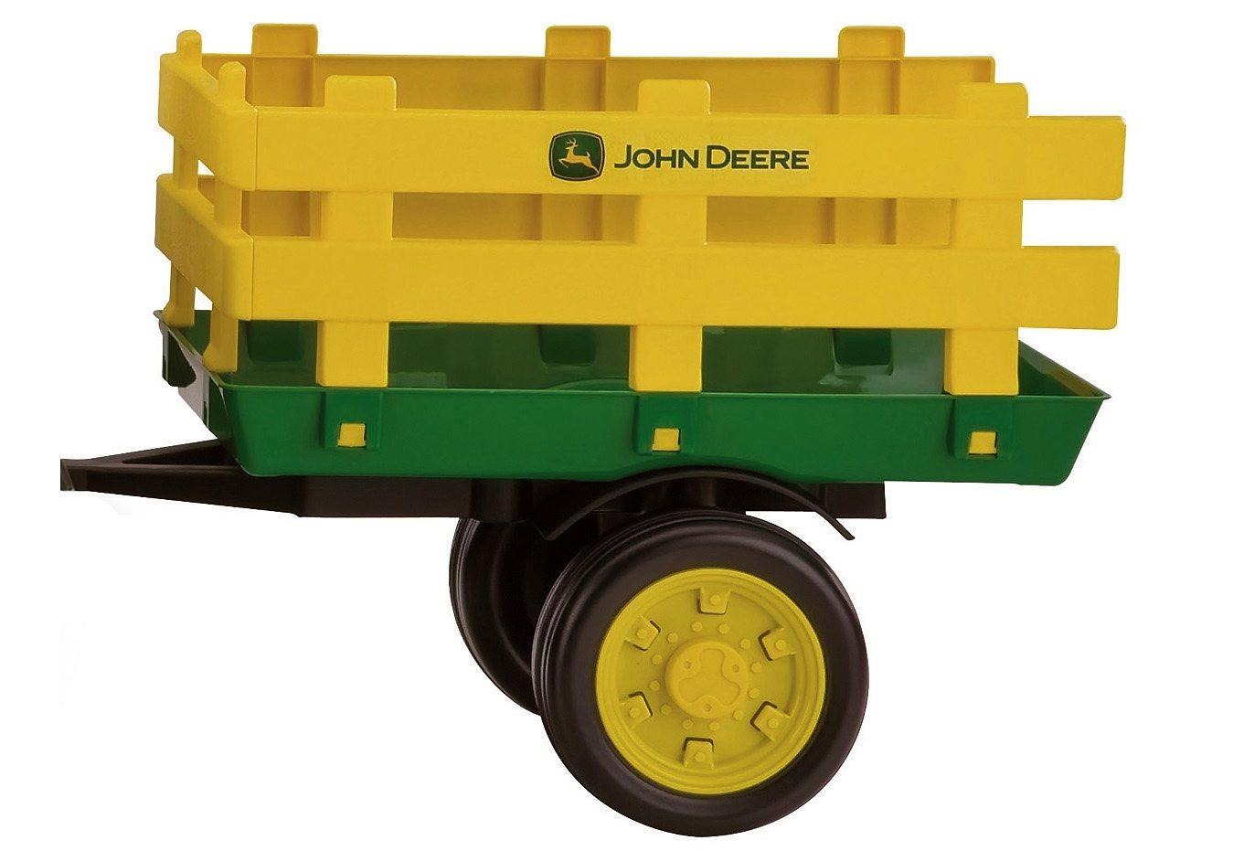 Peg-Pérego Anhänger für Elektrofahrzeug Traktor 6V Power Pull, »StakeSide - John Deere«