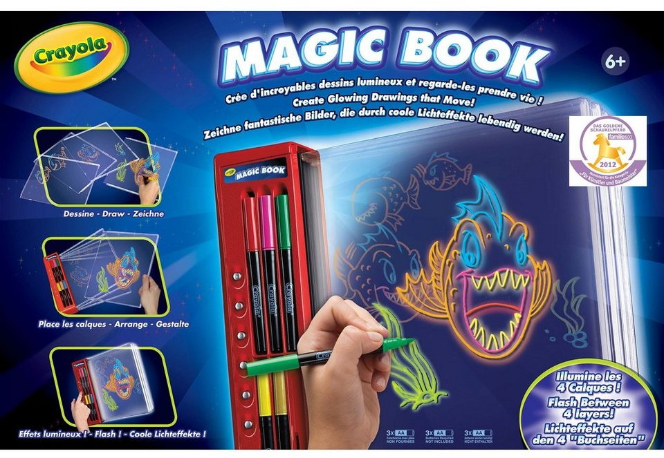 Crayola Malbuch, »Magic Book«