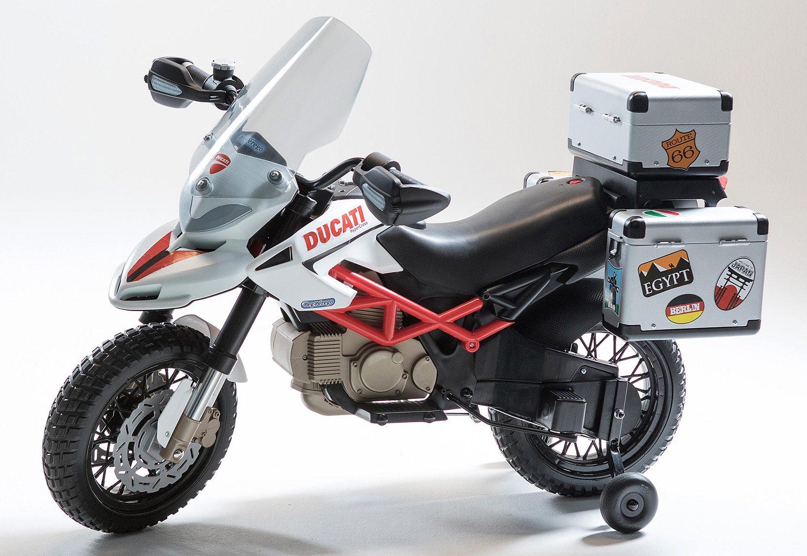 Peg-Pérego Elektrofahrzeug für Kinder Motorrad »DUCATI Hyper Cross - 12V«