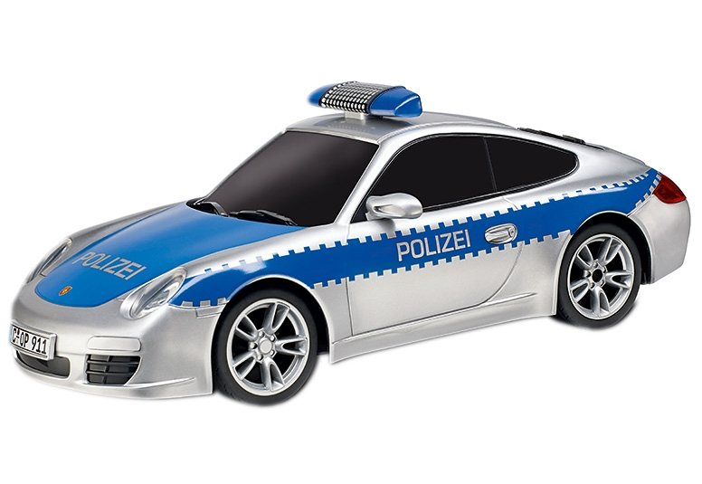carrera rc auto carrera rc polizei porsche otto. Black Bedroom Furniture Sets. Home Design Ideas