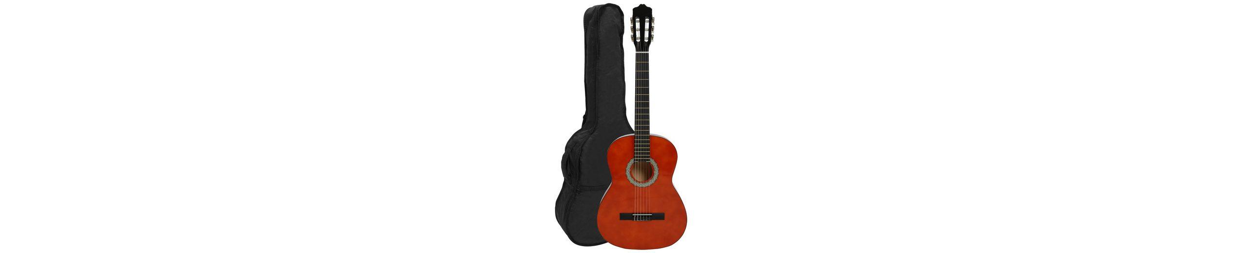 Gitarre 4/4, »Konzertgitarren-Set Honey«