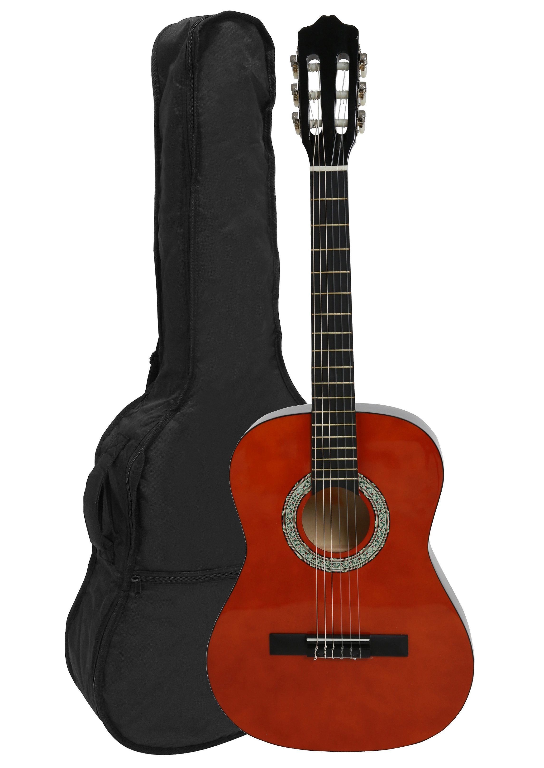 Kindergitarre 3/4, »Konzertgitarren-Set Honey«