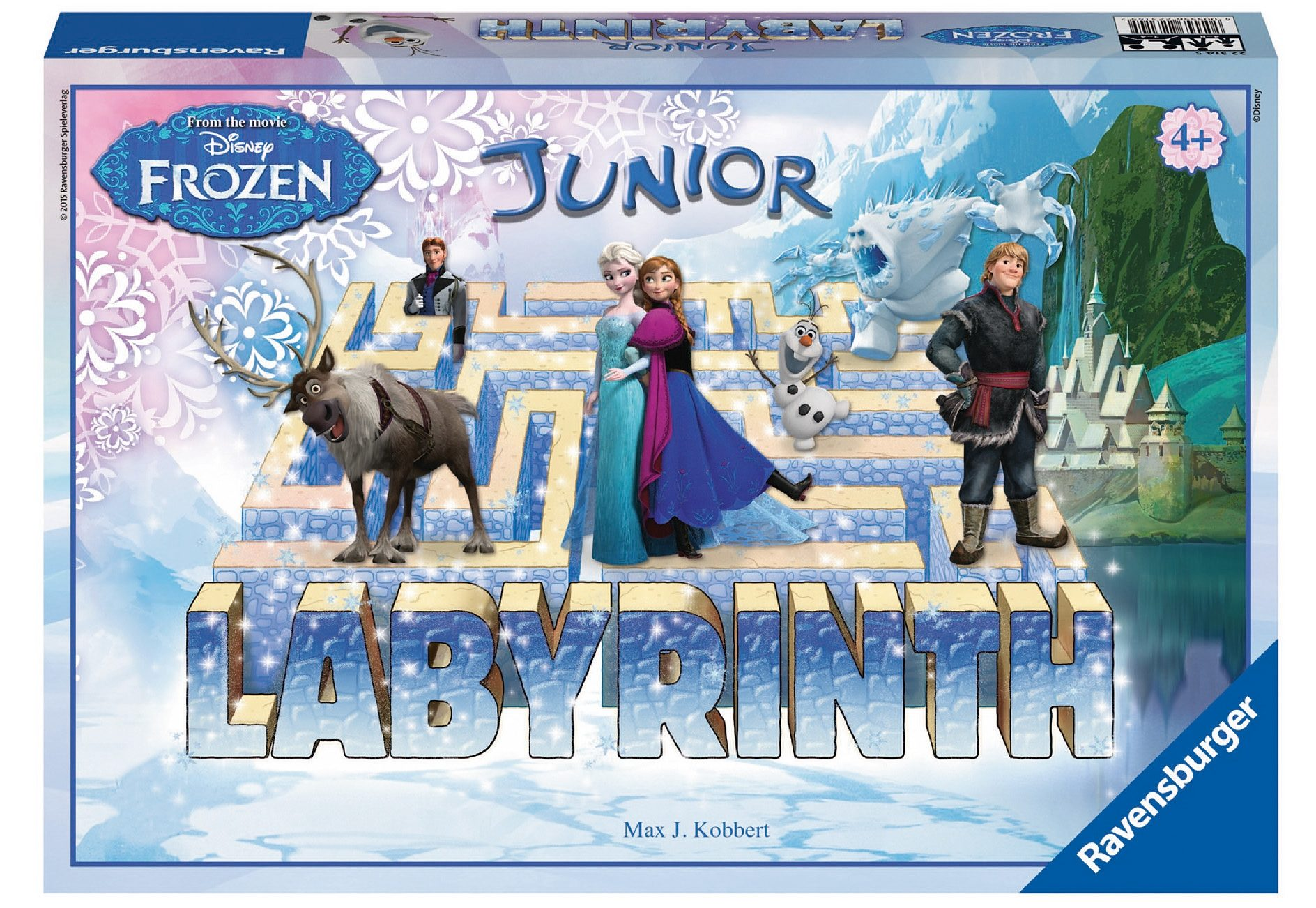Ravensburger Brettspiel, »Disney`s Frozen - Junior Labyrinth«