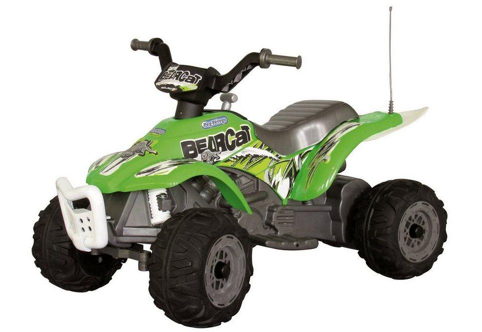Peg-Pérego Elektrofahrzeug für Kinder Quad »6V Corral BEARCAT grün-silber« in grün