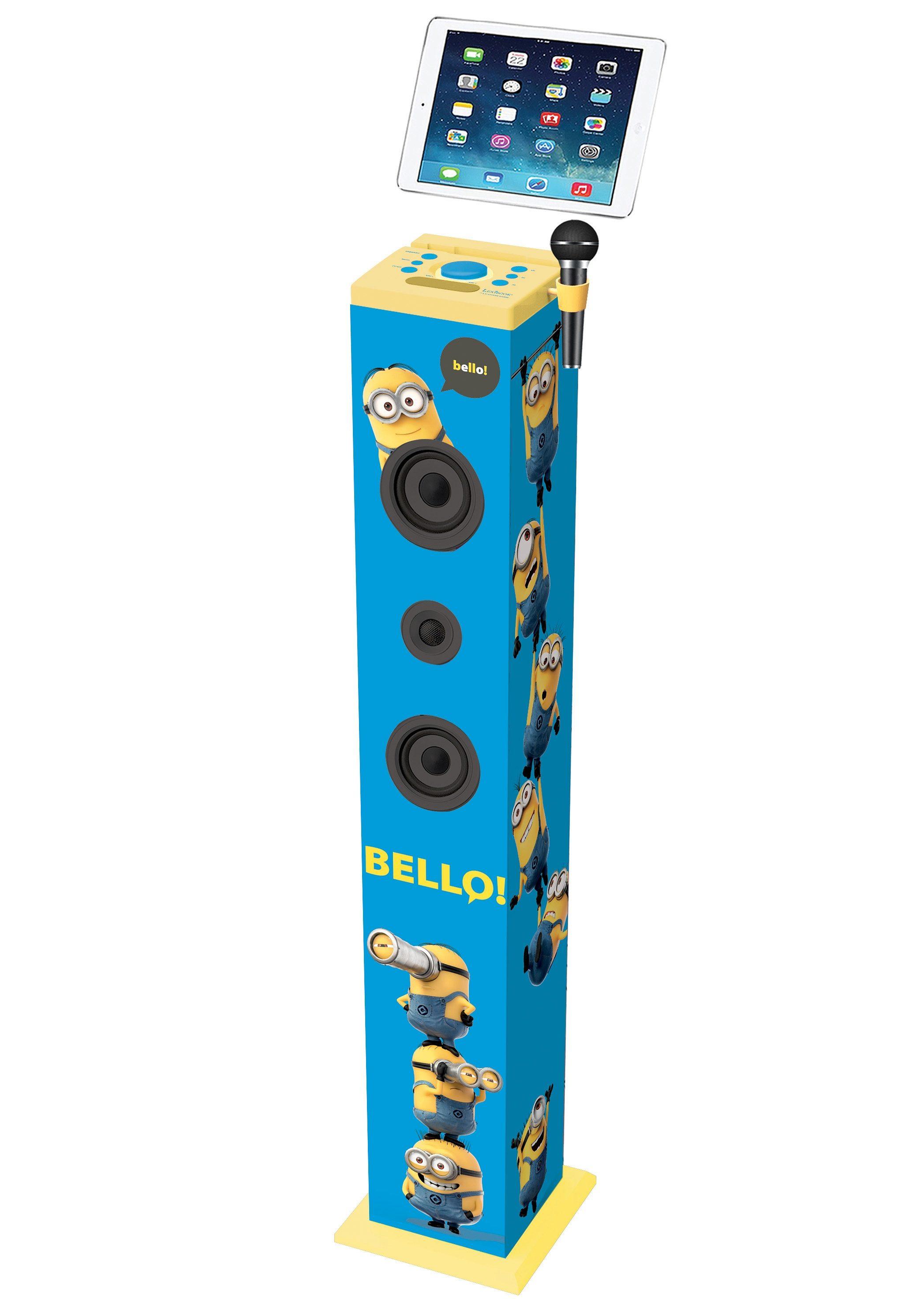 Lexibook Bluetooth® Stereo Tower, »Minions«