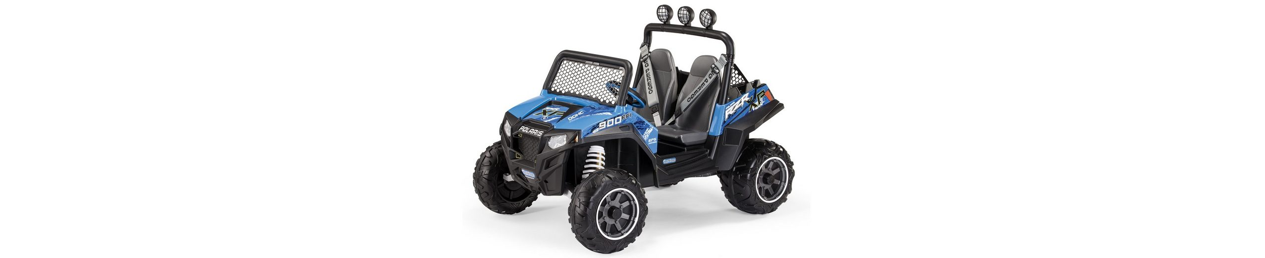 Peg-Pérego Elektrofahrzeug für Kinder Zweisitzer »Polaris Ranger RZR 900 BLU - 12V«