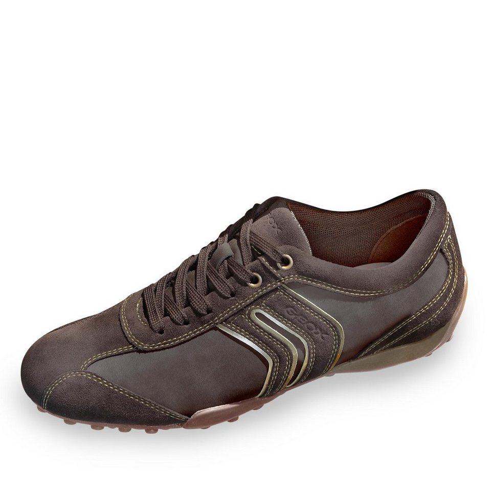 Geox Sneaker in dunkelbraun