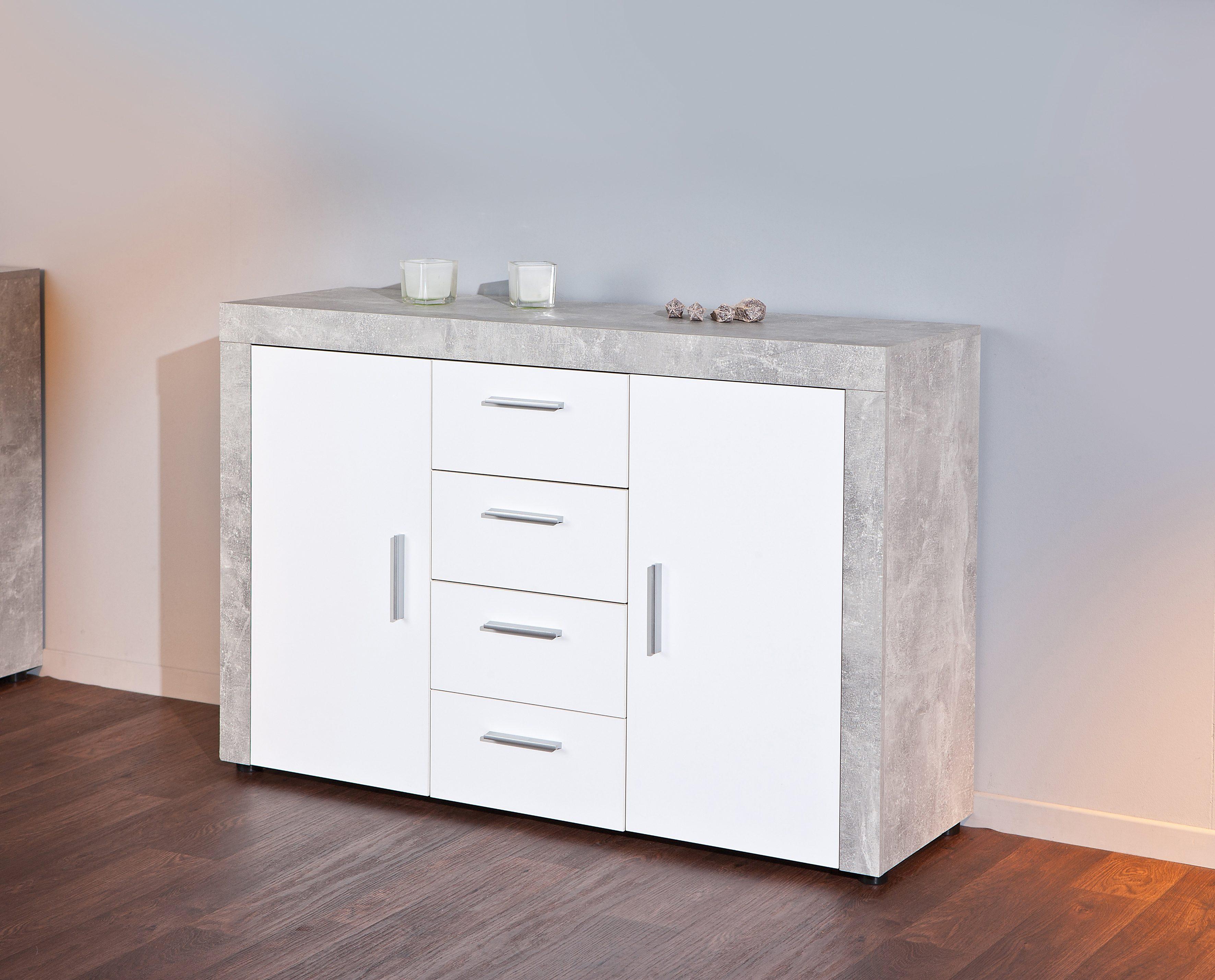 Sideboard, Breite 134 cm