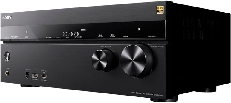 Sony STR-DN1060, Multiroom 7.2 AV-Receiver (Hi-Res, 3D, Airplay, WLAN, Bluetooth, NFC) in schwarz