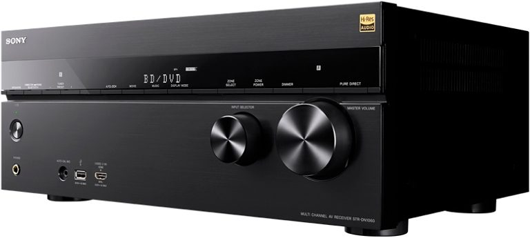 Sony STR-DN1060, Multiroom 7.2 AV-Receiver (Hi-Res, 3D, Airplay, WLAN, Bluetooth, NFC)