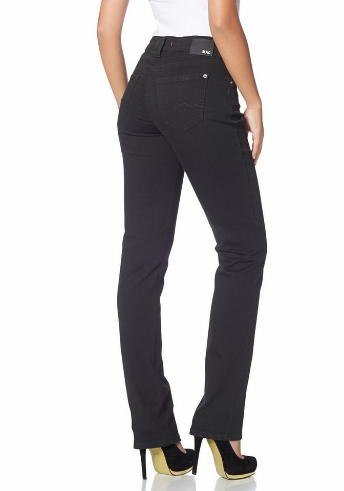 MAC 5-Pocket-Jeans »Melanie« in black