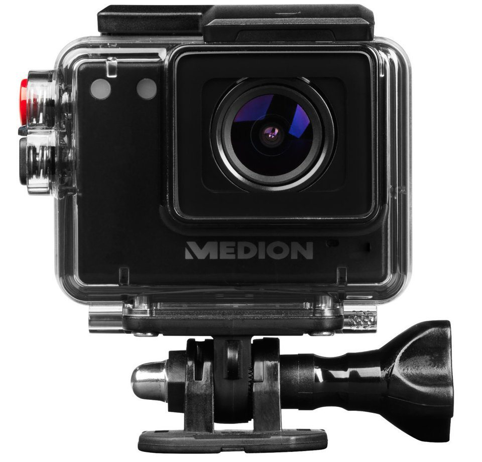 MEDION® Full HD Action Camcorder »LIFE® S41004 (MD 87157)« in schwarz