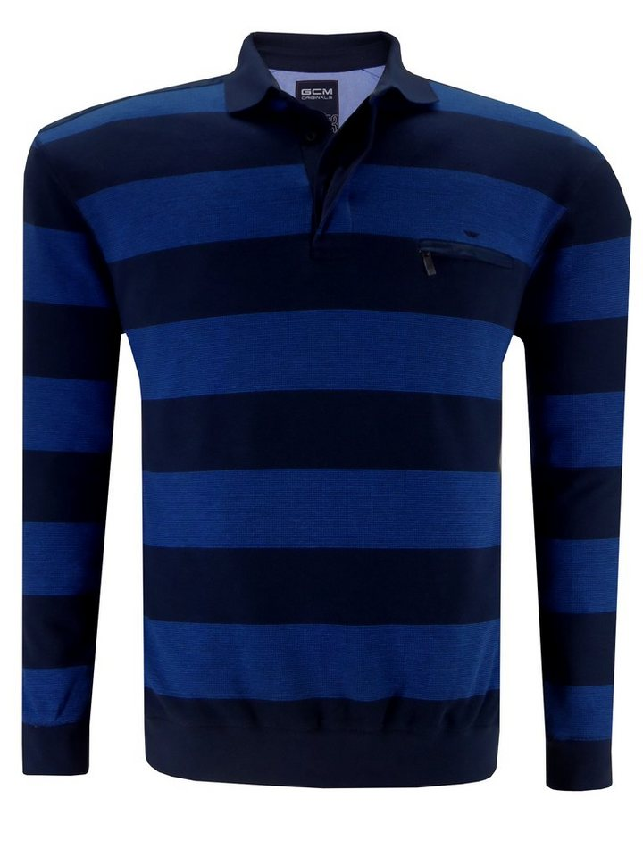 GCM Polosweater in Blau
