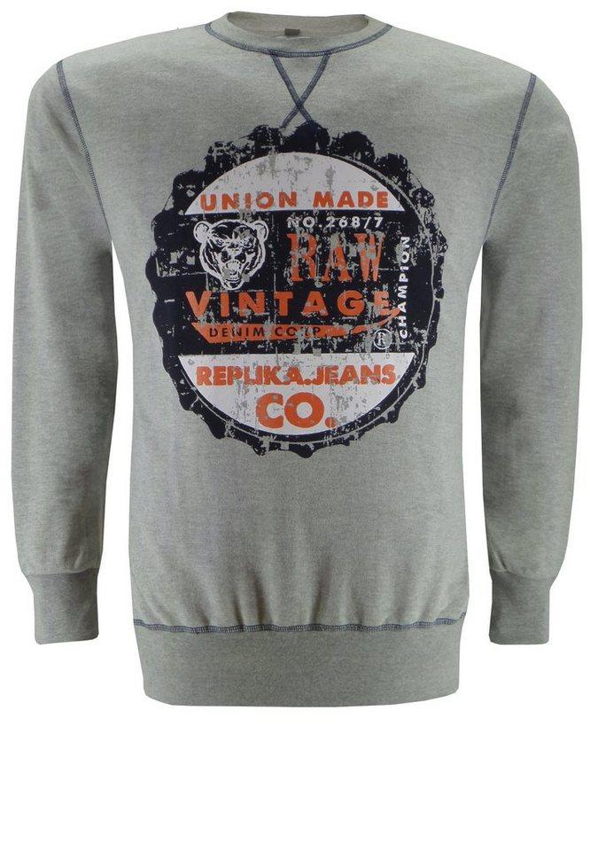 replika Sweater in Grau