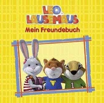 Gebundenes Buch »Leo Lausemaus - Mein Freundebuch«