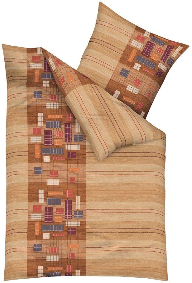 bettw sche kaeppel network mit rechteck motiven. Black Bedroom Furniture Sets. Home Design Ideas