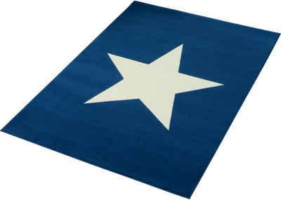 Kinderteppich blau stern  Kinderteppich online kaufen » Kinderzimmerteppich | OTTO
